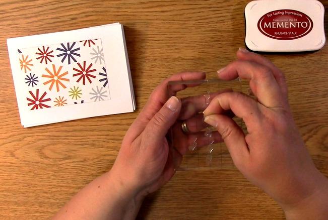 arrange stamps