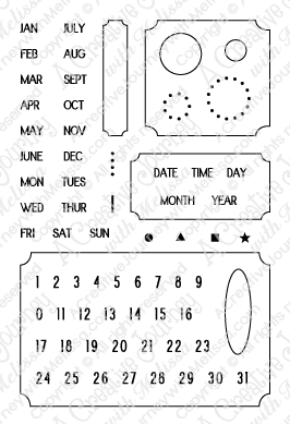 A Date to Remember Stamp Set
