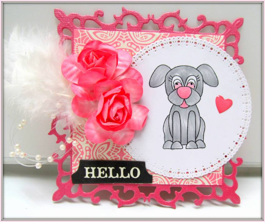 Mom is Top Dog - RETIRED - Clear Stamps and Crafting Products