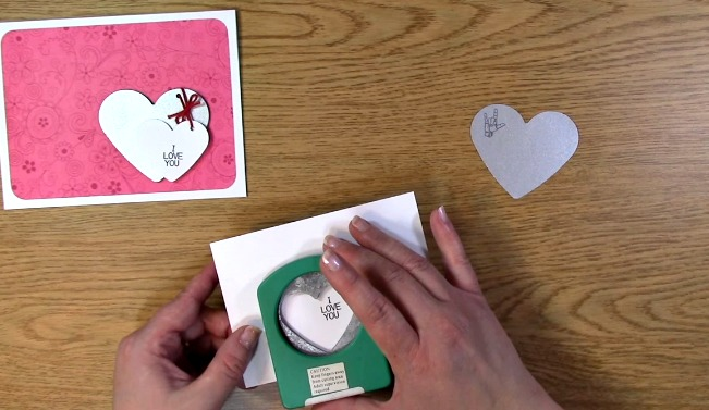Sign Language Sentiments 2 stamp set I Love You Card d