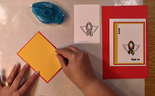 Awareness Ribbon #6 - Autism Angel Stamp Release SNEAK PEEK and MORE g