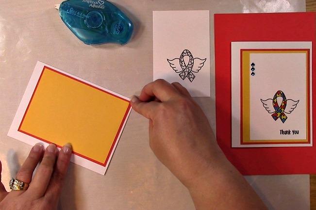 Awareness Ribbon #6 - Autism Angel Stamp Release SNEAK PEEK and MORE h