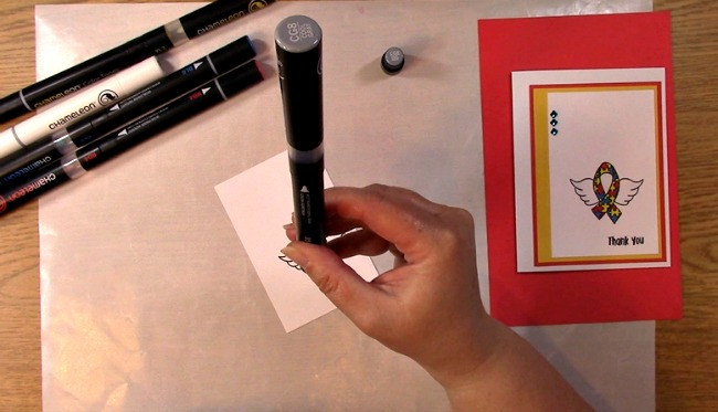 Awareness Ribbon #6 - Autism Angel Stamp Release SNEAK PEEK and MORE i