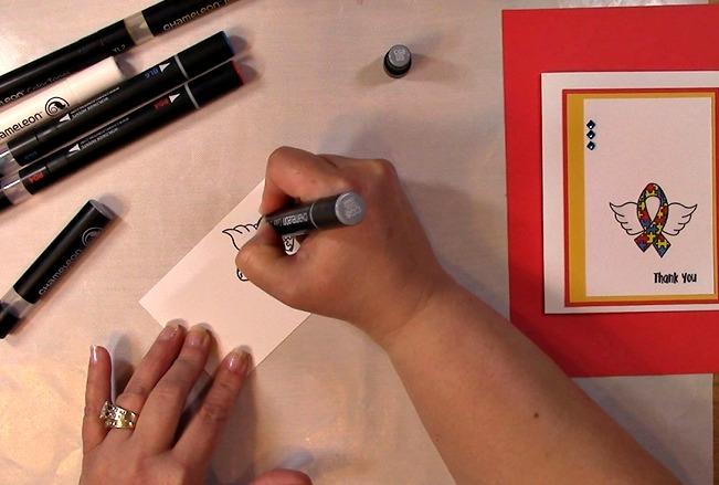 Awareness Ribbon #6 - Autism Angel Stamp Release SNEAK PEEK and MORE ia