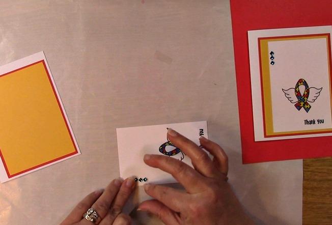 Awareness Ribbon #6 - Autism Angel Stamp Release SNEAK PEEK and MORE q