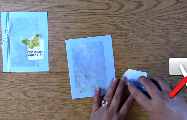 Sympathy Card Part 2 - Creating Your Card l