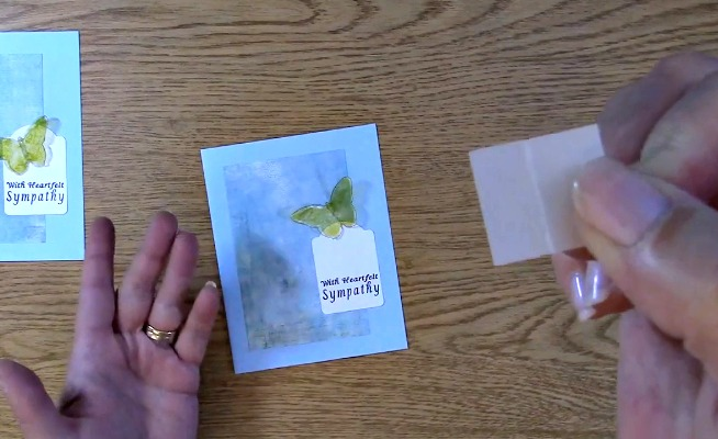 Sympathy Card Part 2 - Creating Your Card o