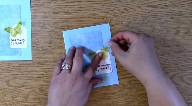 Sympathy Card Part 2 - Creating Your Card r
