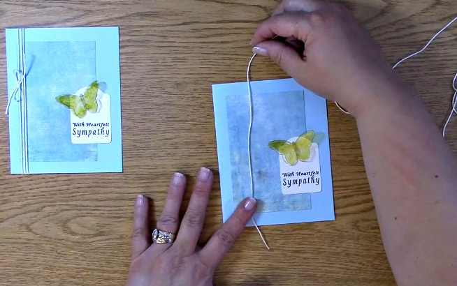 Sympathy Card Part 2 - Creating Your Card s