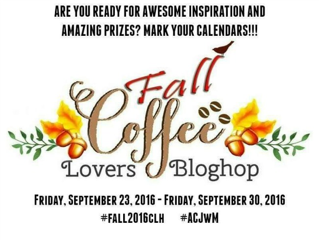 2016 Fall Coffee Lovers Blog Hop banner