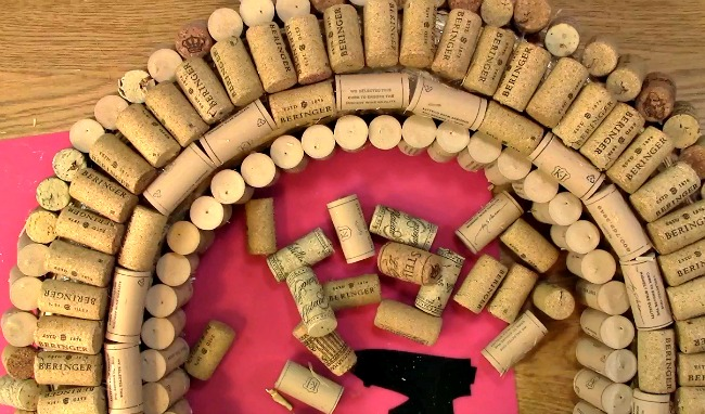 Create your own Cork Wreath Part Two u