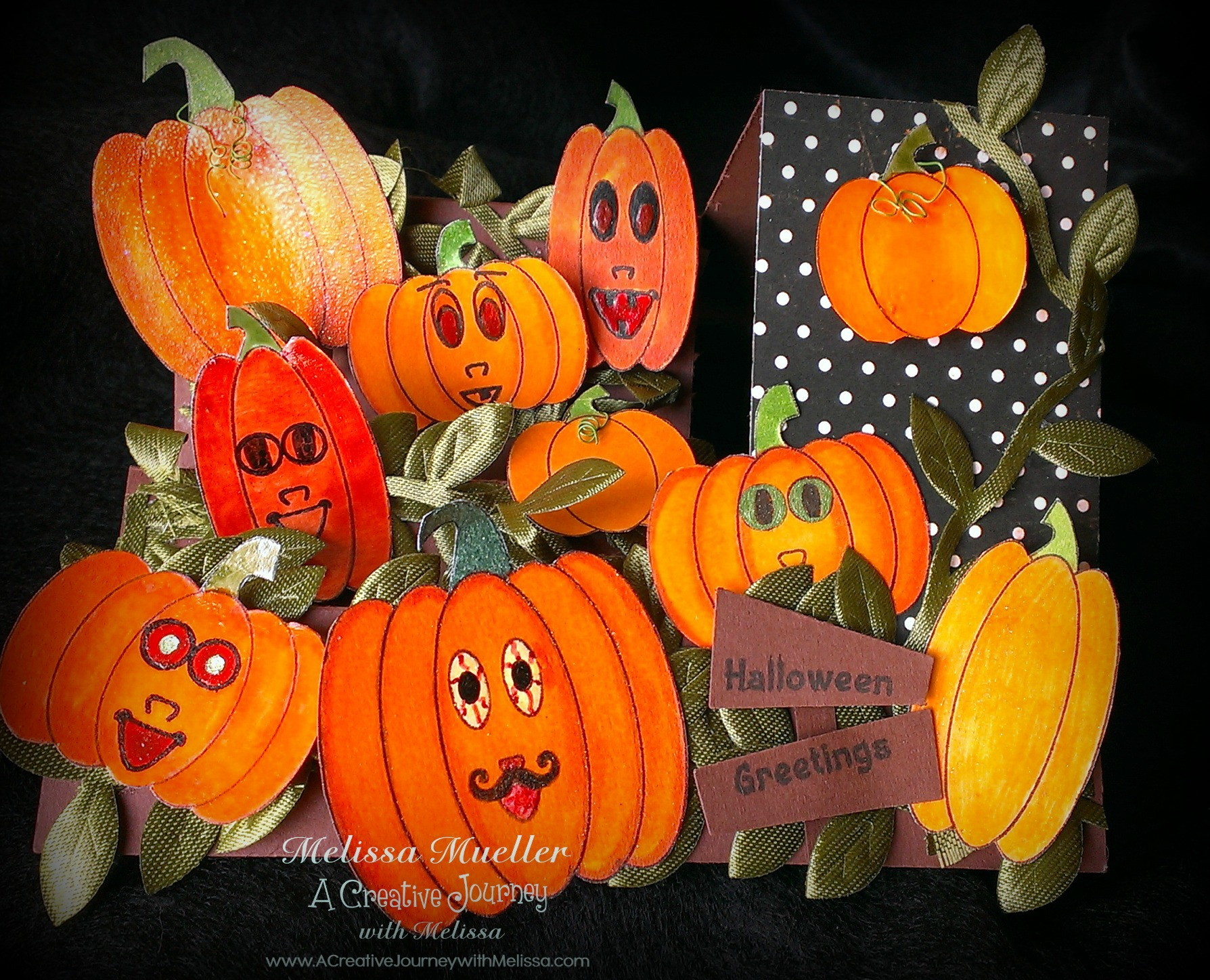 Pumpkin Patch People Stamp Set