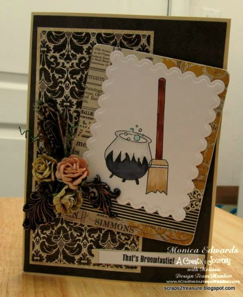 Witch Way Stamp Set