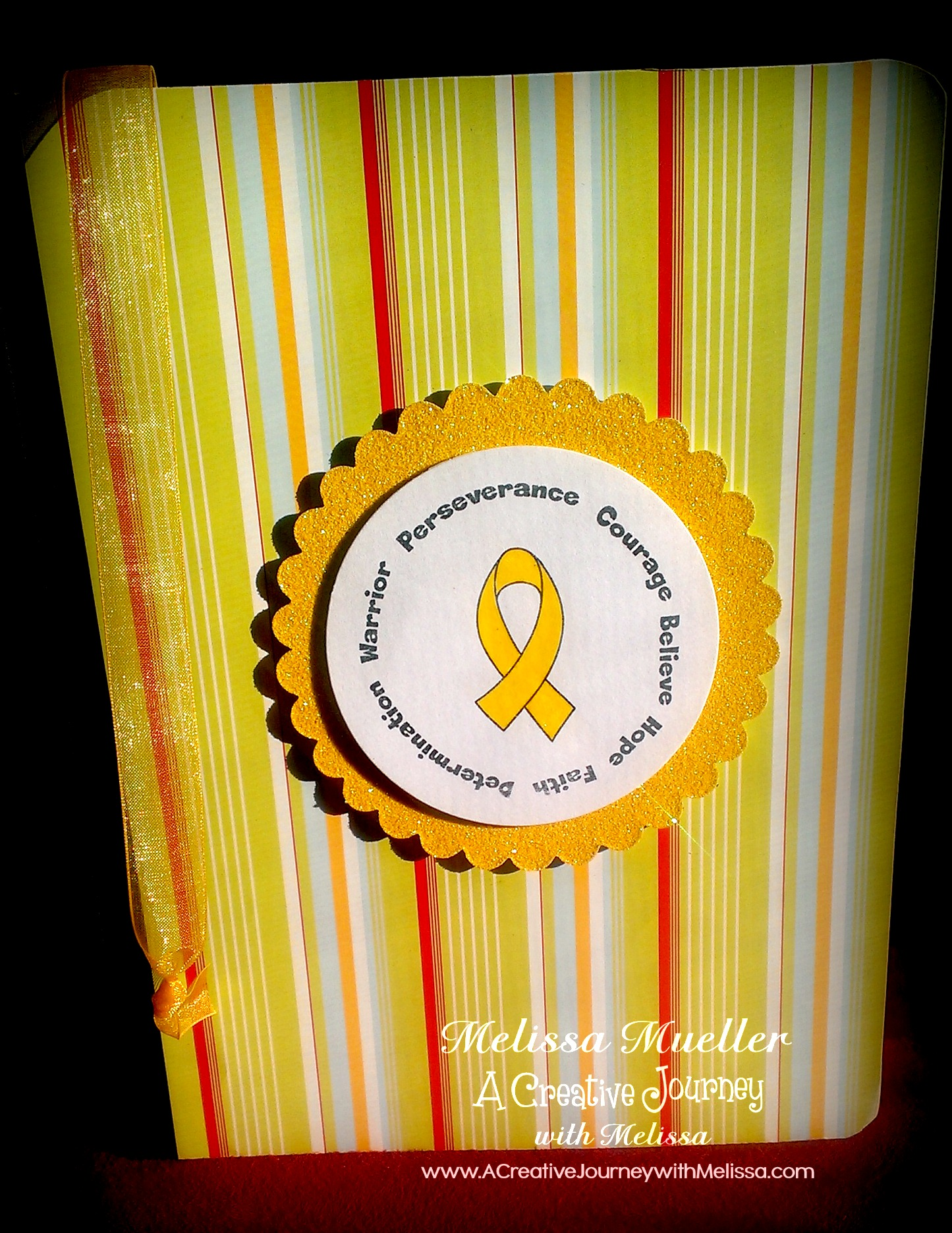 Awareness Ribbon Set #1 Stamp Set