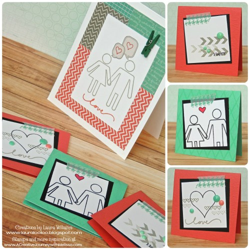 I Just Love You Stamp Set