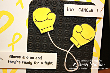 Awareness Ribbon Set 3 Ready For A Fight Clear Stamps