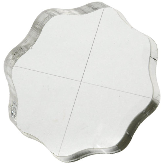 """2.5"""" round block with grips view 2"""