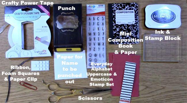 Supplies w text