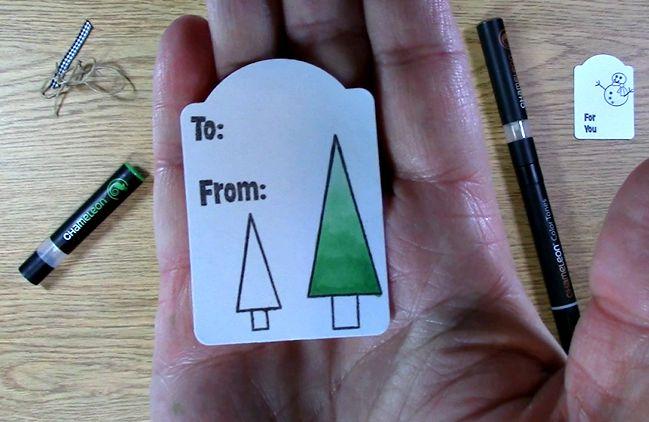 colored tag varigation tree