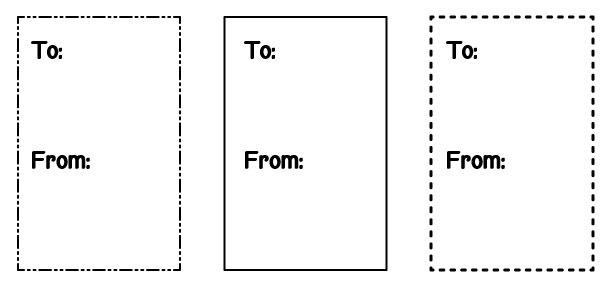 Tags---Black- small