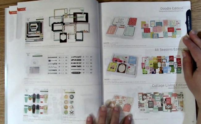 Project life Winter Catalog 2016