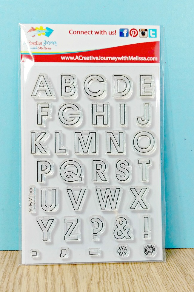 everyday alphabet outline uppercase and symbols large