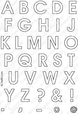 Printable Letters Capital And Lowercase