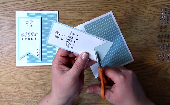 Stamp Set Sneak Peek - Sign Language Sentiments 2 l