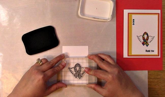 Awareness Ribbon #6 - Autism Angel Stamp Release SNEAK PEEK and MORE f