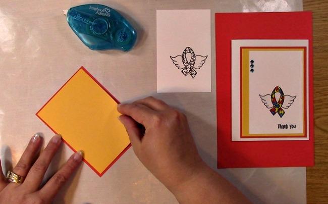 Awareness Ribbon #6 - Autism Angel Stamp Release SNEAK PEEK and MORE g