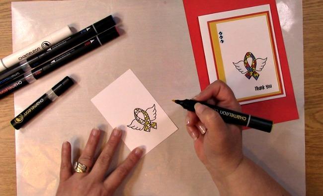 Awareness Ribbon #6 - Autism Angel Stamp Release SNEAK PEEK and MORE j