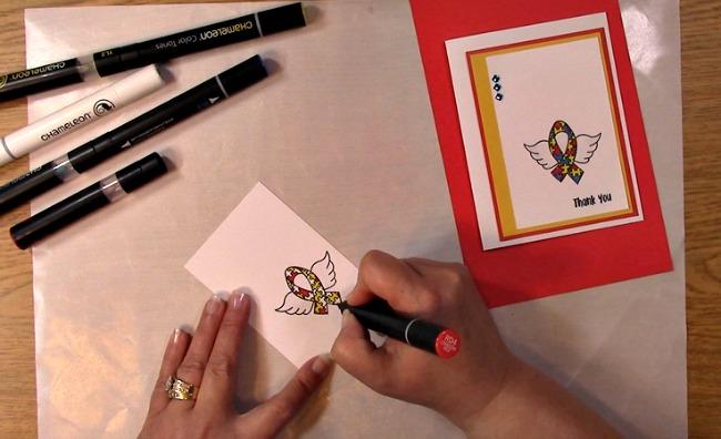 Awareness Ribbon #6 - Autism Angel Stamp Release SNEAK PEEK and MORE k