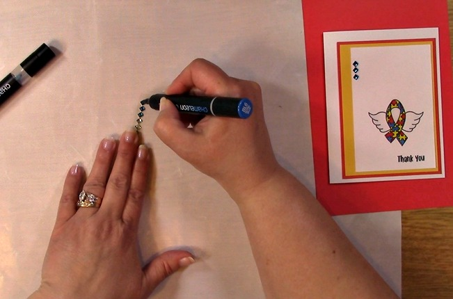 Awareness Ribbon #6 - Autism Angel Stamp Release SNEAK PEEK and MORE p
