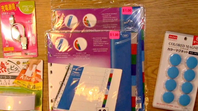 Awesome Deals Shopping Haul Scrapbooking Made Simple and Daiso k