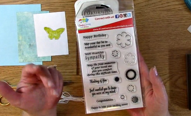 Sympathy Card Part 2 - Creating Your Card c