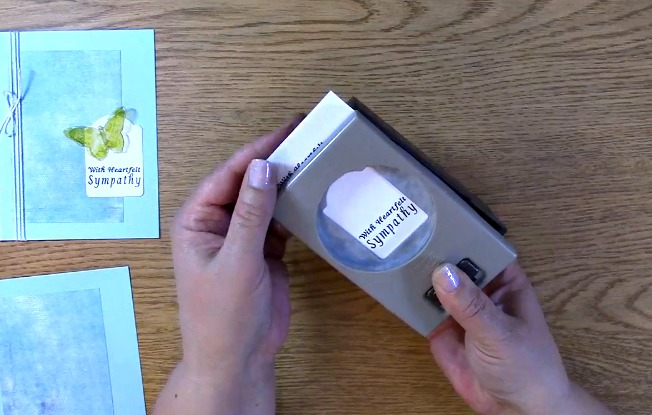 Sympathy Card Part 2 - Creating Your Card k