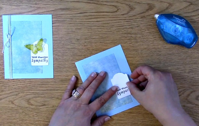 Sympathy Card Part 2 - Creating Your Card m