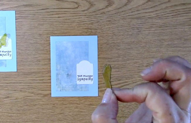 Sympathy Card Part 2 - Creating Your Card n