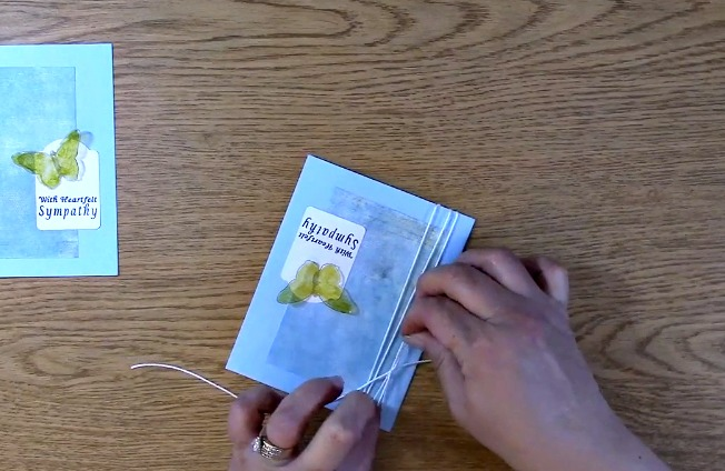 Sympathy Card Part 2 - Creating Your Card t
