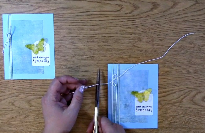Sympathy Card Part 2 - Creating Your Card x