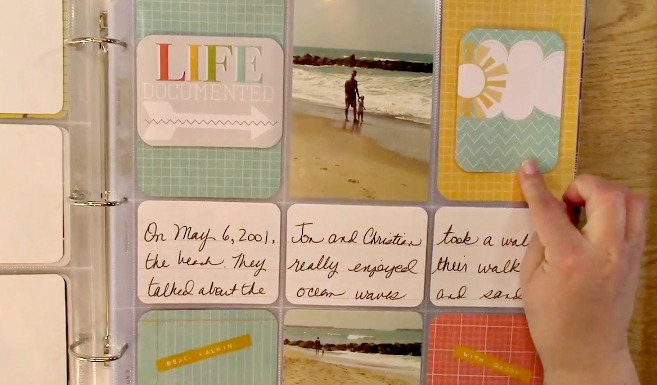 Project Life Pocket Page Scrapbooking Clear Stamps And Crafting