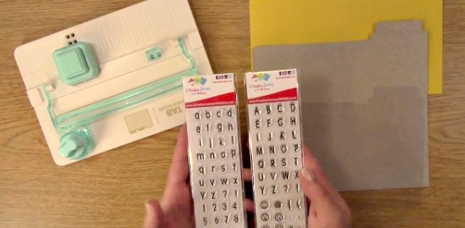 We R Memory Keepers Tab Punch Board Review - Clear Stamps