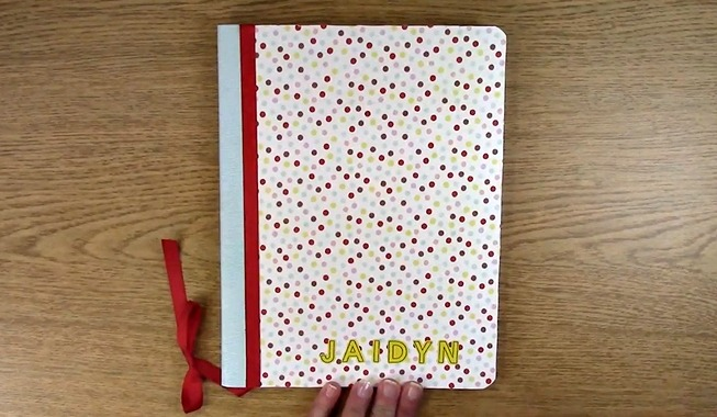 create your own personal planner journal or notebook clear